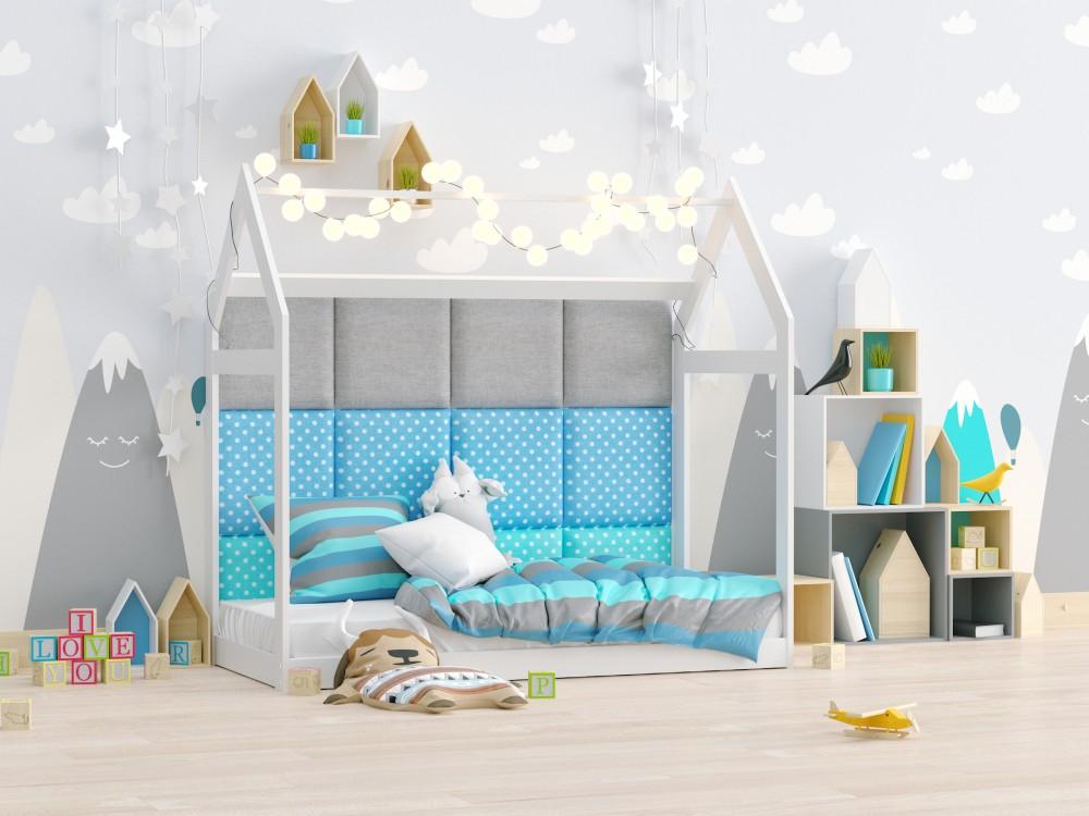 Dappi łóżka Panele Tapicerowane Dekoracyjne ścienne